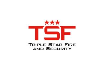 Triple star fire security nimbus partner logo