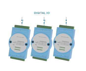 Digital inputs connection